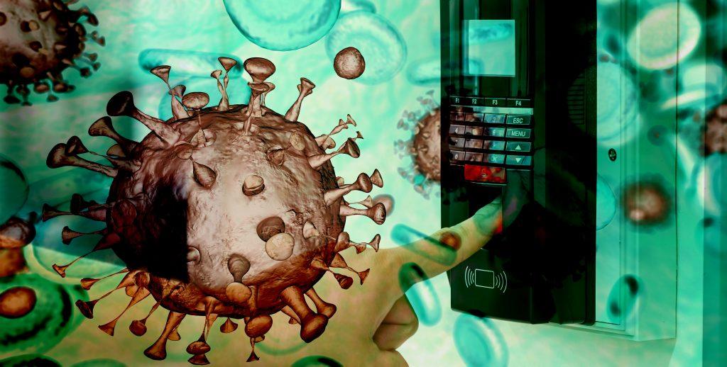 coronavirus contamination Finger Biometric Systems